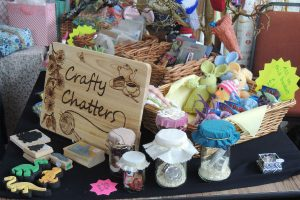 Crafty Chatters at Wall Heath Community Association Spring Fayre 2018