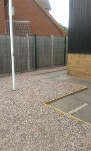 Wall Heath Community Centre Flag Pole Surround 1