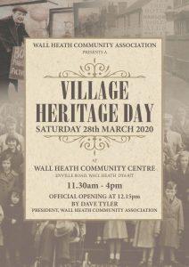 Wall Heath Village Heritage Day Poster