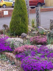 Garden Display Enville Road Wall Heath